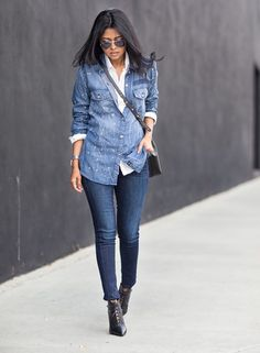 6 Fresh Ways to Wear a White Button-Down Shirt for Spring