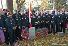 Members of the Canadian Forces in attendance at the 2011 Sikh Remembrance Day Ceremony sponsored by SikhMuseum.com