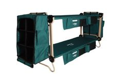 Disc-O-Bed Cam-O-Bunk Loaded Cot Including Organizers and Leg Extensions and 2 Cabinets, Large Optimum Fulfillment,http://www.amazon.com/dp/B00BGU496E/ref=cm_sw_r_pi_dp_90iotb0D46BCBZ7E