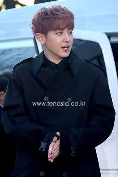 Chanyeol - 160217 5th Gaon Chart K-POP Awards, red carpet Credit: Ten Asia. (제5회 가온차트 케이팝 어워드)