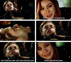 Jace et clary Season 2 finale Clary Et Jace, Clary Fray, Shadowhunters Series, Shadowhunters The Mortal Instruments, Malec, Bellarke, Captain Swan, Delena, Arrow Flash