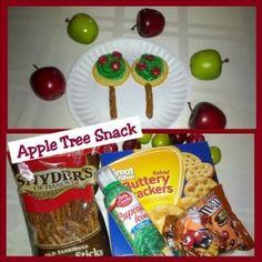 Apple Tree Snack From Teaching Heart