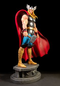 Thor Classic statue Sculpted by: Randy Bowen Release Date: May 2007 Edition Size: 3000 Order Of Release: Phase III (statue #86)