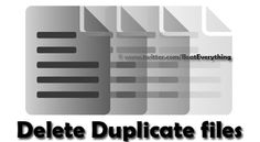 Duplicate files fill up free space on your hard drive and decrease the performance of your OS. Free Space, Open Source, Filing, Effort, Software, Technology, Tech, Tecnologia