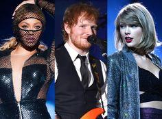2015 MTV Video Music Awards Nominations: Taylor Swift, Ed Sheeran and Beyoncé Lead the Pack  Taylor Swift, Ed Sheeran, Beyonce