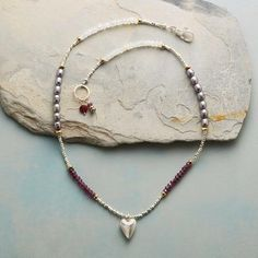 """MY HEART IS YOURS NECKLACE 17"""""""