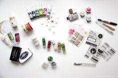 Scattered Confetti Scrap: Scrapbook Werkstatt [Adventskalender]. // #moodboard #scrapbooking #americancrafts #scrapbookwerkstatt #studiocalico #christmas