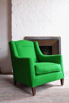 Green Snooker Fabric Chair
