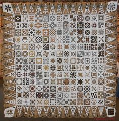 """Fabadashery: """"Dear Jane"""" 150th Quilt Exhibition, Nantes, France"""