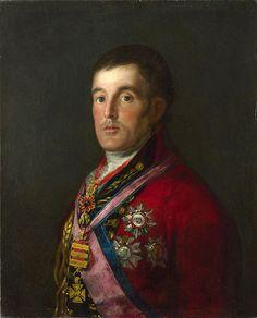 The Duke Of Wellington  Francisco Goya