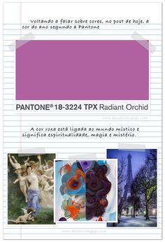 PANTONE - 18-3224, a cor do ano!