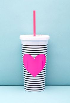 ban.do Stripe Heart Graphic Tumbler | Forever 21 |#f21home