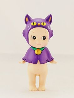 DREAMS Sonny Angel Minifigures 2014 Halloween Series Special Edition Purple Cat Normal Character