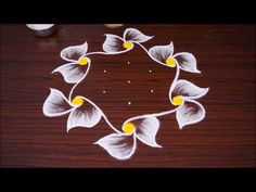 It is our tradition to draw kolam every day morning at the door steps. There are many benifits of drawing kolam in front of the house. It is auspecious and b.