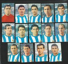 Em 1967: Joanet, Lariño, Campanal, Domínguez, Sertucha, Manolete, Pellicer, Montalvo, Idídoras, Sánchez Lage, Gatell, Aurre, Carlos e Ribada.
