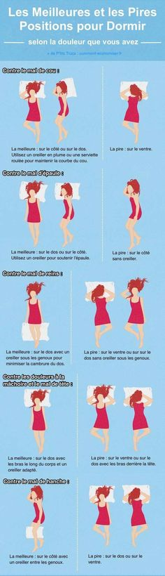 Ces graphiques vont certainement vous aider à mieux dormir Health And Wellness, Health Tips, Health Fitness, Health Blog, Healthy Habits, Healthy Life, Herbal Remedies, Good To Know, Natural Health