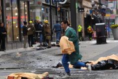 Berlin, Westminster, Now Stockholm, 4/7/17. On and on WWIII goes. It's a fact - the moment you step out of your door, you don't know when the death cult of islam will strike anywhere in the world.