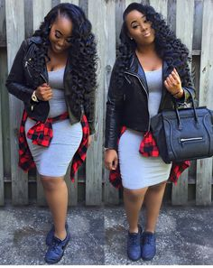 lovely fall and winter fashion trends clothing for teens 55 Fashion 101, Fashion Wear, Girl Fashion, Fashion Outfits, Womens Fashion, Fashion Trends, Fashion Inspiration, Plaid Shirt Outfits, Cute Fall Outfits