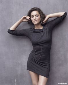 Marion Cotillard's adorable bob - maybe it's time to go short again?