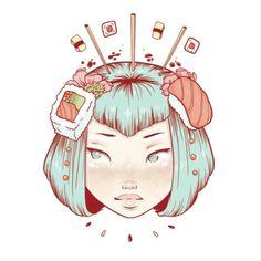 Alyssa Mees Trautz - Digital Art - Illustration - Progress video.
