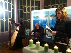 """Lançamento do livro """"Pedaços de alma"""", de Ana Maria Soares, na Casa Barbot, em Vila Nova de Gaia, em Dezembro 2011."""
