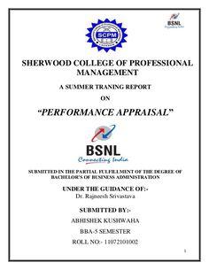 Bsnl Project Report  Report Of Bsnl