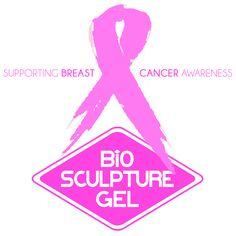 Pink Ribbon Bio Sculpture Gel, Breast Cancer Awareness, Lipstick, Evo, Ribbon, Beauty, Nails, Pink, October