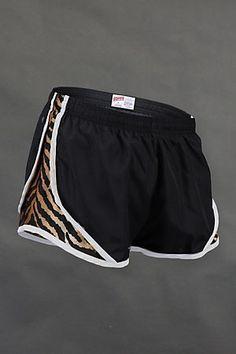 Rawr, print Soffe shorty shorts
