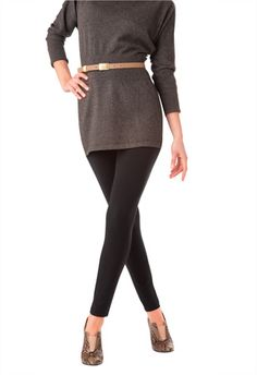 Ultra Leggings with Wide Waistband ($36) - Hue