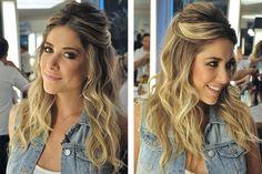 8 dicas de penteados para festas | Danielle Noce