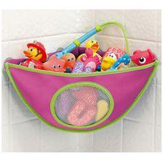 Organizador de Brinquedos para o Banho! www.osapoeaprincesa.com.br