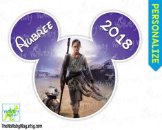 Rey Star Wars The Force Awakens Printable Disney Iron On Transfer or Use as Clip Art - DIY Star Wars Shirt, Disney, Family Vacation, Mickey by TheWallabyWay on Etsy Disney Iron On Transfers, Rey Star Wars, Tips & Tricks, Disney Star Wars, Images, Clip Art, Printables, Disney Family