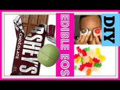 DIY EDIBLE EOS   EAT YOUR EOS   PARTY FAVORS - YouTube