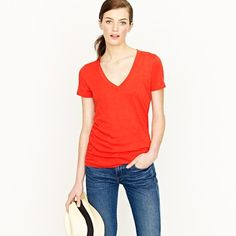 cozy, vintage 'i could wear you all day, every day' J. Crew tees.
