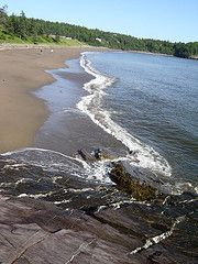 Mispec beach in New Brunswick!! Grew up going to this beach.
