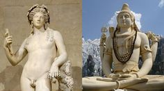 These Gods are both associated with intoxication and madness as well as having benevolent and malevolent sides. World Mythology, Greek Mythology, Similarities Between, Indian Express, Greek History, Indian Gods, Conspiracy Theories, Retelling, Greek Gods