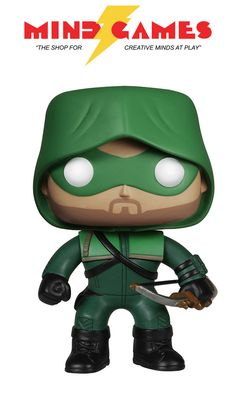 Oliver Queen has returned from five years on a deserted island and has taken up the mantle of the Arrow. Determined to clean up his city, the Arrow dispenses vigilante justice upon criminals and saves everyday citizens. Take aim and nab this POP Arrow The Arrow Vinyl Figure for your collection!