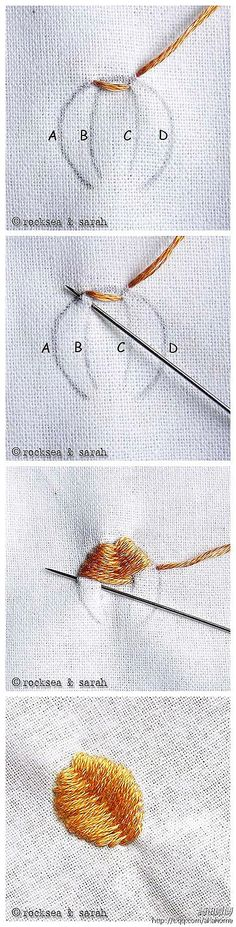 embroidery tutorial