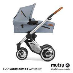 Mutsy EVO I urban nomad winter sky