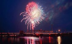 July 3rd fireworks in Surf City, NC at  Soundside Park Music begins at 6pm and Fireworks at dark No Coolers or Alcohol allowed.