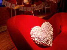 Escaparate de San Valentín 2015 - Showroom de #Barcelona