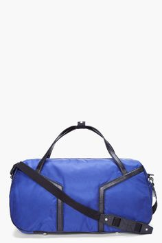 YSL blue leather trimmed duffle bag Welt Pocket, Urban Outfits, Bag Sale,  Ysl 551fcde1b5