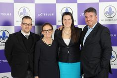 Martin Roy, Marie-Andrée Simard, Anne Rochette et Nicolas Mazellier représentaient la région Skibec au Gala Telus 2014. Courses, Skiing, Marie, Coat, Fashion, Ski, Moda, Sewing Coat, Fasion
