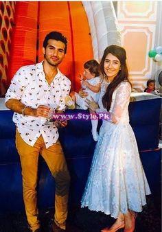 Birthday celebrations of Syra and Shehroz's baby | Style.Pk