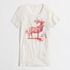 WANT this TEE!!!!!.........holiday 2012 elk tee...factory.......called stores.....personal shopper.....sigh...lost the only one on eBay.......