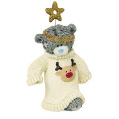 Me to You Me to You 1-Piece Tatty Teddy Collectible Figurine, Titled Winter Woolies