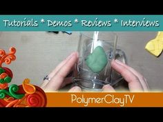 12:40  How to attach polymer clay to glass, tile, coffee mugs, glues and connec...
