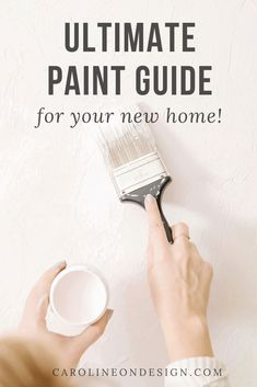 Not only does this roundup of my best paint blog posts share the most popular neutral paint colors and a list of designer's favorite white colors, but you'll also find an overview of paint sheens, where to buy mess-free paint samples, and tips on how to choose the perfect paint colors for your home. Let's dive in! Best Neutral Paint Colors, Paint Colors For Home, White Colors, Best Interior Paint, Interior Decorating Tips, Interior Design, Free Paint Samples, Paint Sheen, House Design Photos