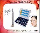 Kit 3 Canetas + 9 Ponteiras Diamantadas de Alumínio