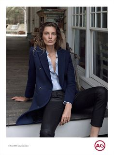 Racking up yet another campaign this season, Daria Werbowy lands the fall-winter 2015 advertisements from AG Jeans, her third consecutive campaign for the denim brand. Photographed by Cass Bird and styled by Alastair McKimm, Daria serves up casual cool looks while posing in a woodsy setting. ICYMI: See Daria Werbowy in Net-a-Porter's fall campaign Enjoyed …